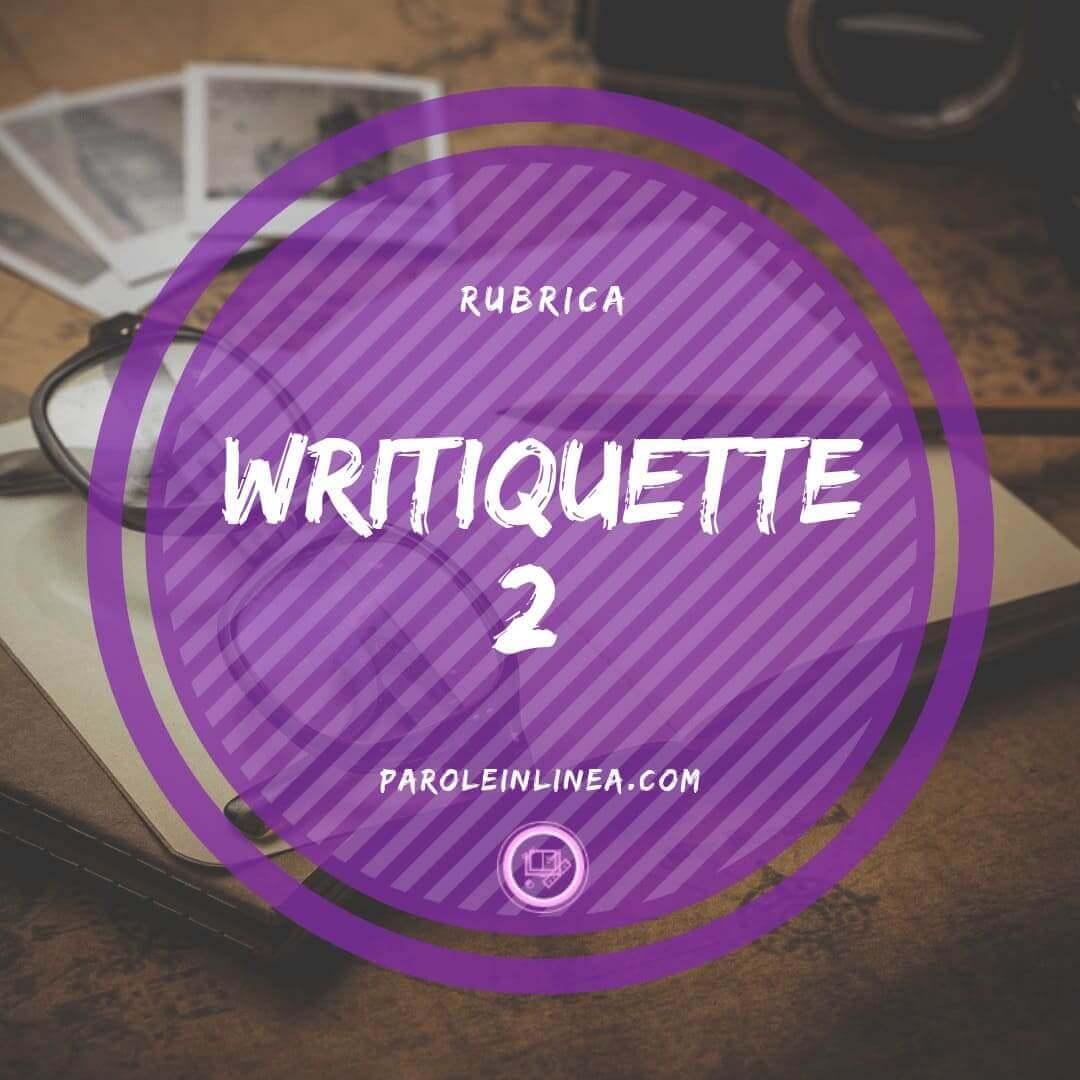 Writiquette #2: i social network