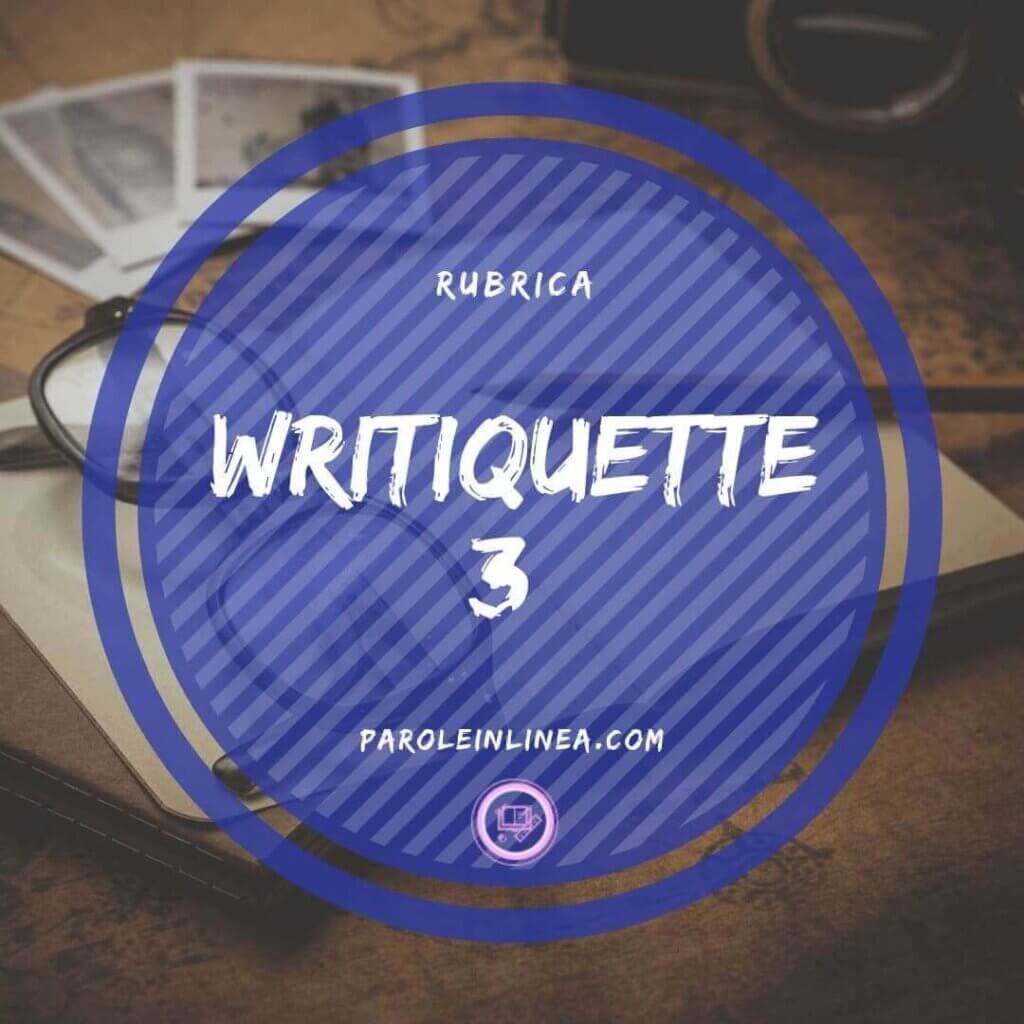 Writiquette #3: i follower