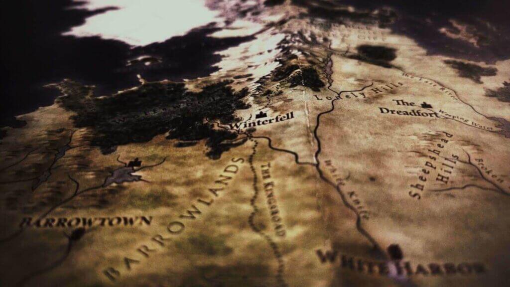 Winterfell, mappa di Grande Inverno